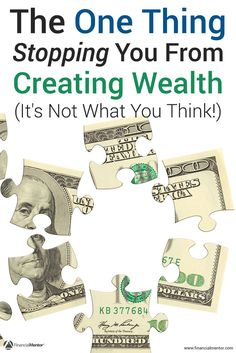 Reveals an easy to understand but hard to live idea that stops you from financial success and creating wealth. Solve this problem to improve your finances. Financial Success, Financial Literacy, Creating Wealth, Investment Advice, How To Get Rich, Money Management, Personal Finance, Investing, How To Make Money