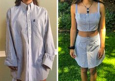 50 Clever Clothing Hacks That Will Save You Money 50 Clever Clothing Hacks That Will Save You Money,Kleidung diy Related posts:Indoor gardening hacks that make you throw your hands up and sprout! Thrift Store Diy Clothes, Diy Clothes Refashion, Thrift Store Refashion, Shirt Refashion, Diy Kleidung Upcycling, Diy Fashion, Fashion Outfits, Autumn Fashion, First Sewing Projects