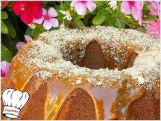 ΚΕΙΚ ΚΑΡΑΜΕΛΑΣ!!! - Νόστιμες συνταγές της Γωγώς! Bagel, Doughnut, Bread, Desserts, Recipes, Food, Tailgate Desserts, Deserts, Eten