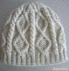 Всем приветик))))  сегодня рассматривала свою маааленькую коллекцию шапочек и… Baby Boy Knitting Patterns, Knitting For Kids, Knit Patterns, Free Crochet, Knit Crochet, Crochet Hats, Crochet Stitches, Knitted Hats, Free Pattern