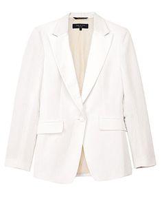i want a white blazer