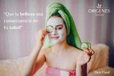 "Frase de Belleza ""Que la belleza sea consecuencia de tu salud"" Oatmeal Face Mask, Banana Face Mask, Yogurt Face Mask, Tomato Face Mask, Avocado Face Mask, Acne Spot Treatment, Skin Treatments, Face Mask Ingredients, Remedies For Glowing Skin"