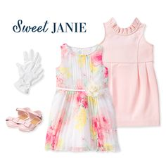Girl's spring time apparel at Janie and Jack!