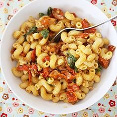 Tomato butter pasta