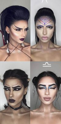 Makeup looks for every star sign