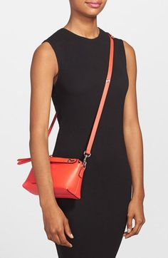 Fendi 'Mini By the Way' Convertible Leather Crossbody Bag   Nordstrom