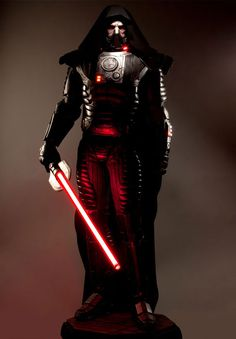 Beginning on April 13, 2012 and continuing until May 11, 2012, Sideshow Collectables in collaboration with Lucasarts and Bioware is giving away a life sized figure of Darth Malgus  from the Star Wars The Old Republic