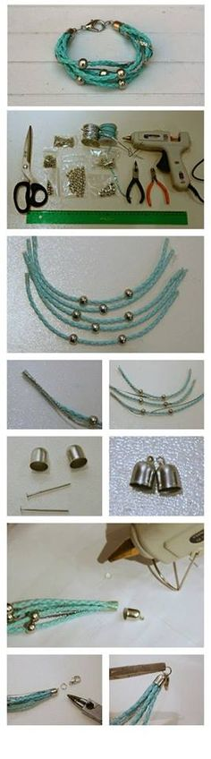 Quick picture guide for using bead caps #Beading #Jewelry #Tutorials