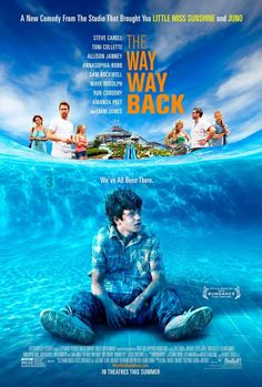 The Way Way Back (2013) Nat Faxon & Jim Rash's breezy comedy is flawed but fun. Film comes off better than it should because this is the shittiest summer for movies in memory.    Forget the fact that you'll spend the first 15 minutes trying to figure out what decade the film is set in and just enjoy wonderful Sam Rockwell, Mya Rudolph, and Allison Janney.  Toni Collette is wasted in underwritten part.  Steve Carell is one dimensional.  Newcomer Liam James is appealing.