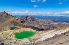 """""""A journey to remember. #NZMustDo [Tongariro Alpine Crossing, Ruapehu. : @mezhopking]  #Travel #NewZealand #NZ #Nature"""""""
