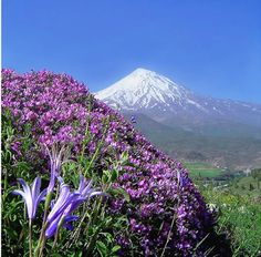 "Damavand "" the highest mountain in IRAN & Middle East"