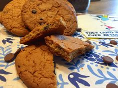 Nieuw recept: Chocolate chip cookies (Dé Amerikaanse koekjes) - http://wessalicious.com/chocolate-chip-cookies-de-amerikaanse-koekjes/