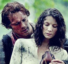 Jamie y Claire   Repost laird-brochtuarach #JamieFraser  #ClaireBeauchamp  #JamieClaire  #Outlander