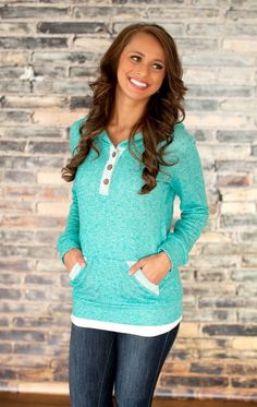 The Pink Lily Boutique - Mint Weekend Hoodie FLASH SALE!!!, $30.00 (http://thepinklilyboutique.com/mint-weekend-hoodie-flash-sale/)