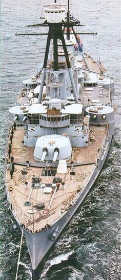 Georgios Averof is a Greek warship which served as the flagship of the Royal Hellenic Navy during most of the first half of the 20th Century. Although popularly known as a battleship it is in fact an armored cruiser, the only ship of this type still in exi