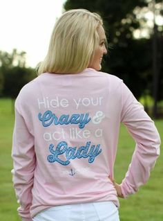Southern Darlin' shirts are ridiculously cute and comfy! We are a proud distributor of the brand. :)