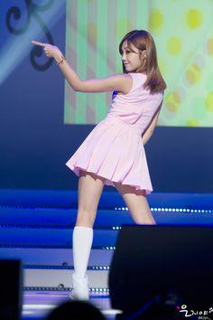 APink EunJi  #back