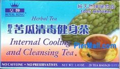 Bitter Gourd Internal Cooling and Cleasing 100 Natural Caffeine Free Herbal Tea  20 Tea Bags 14 Oz *** Want additional info? Click on the image. Note: It's an affiliate link to Amazon.