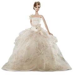 AmazonSmile: 2011 Vera Wang Traditionalist Bride Barbie Ltm 2500: Toys & Games
