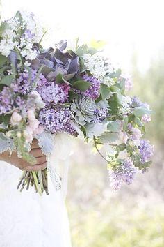 Luxe Bohemian Wedding Bridal Bouquet