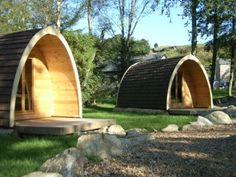 A pod, you say? Don't mind if we do. Not only does it sound fantastically sci-fi, but a camping pod or holiday cabin is waterproof, cosy, can sleep up to five and is available all around the country, from Skye to St Austell. A step up from the traditional bothy, a camping pod is one of the more affordable glamping experiences and can be had all year round.