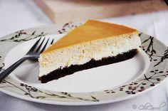 cajeta and vanilla cheesecake/pay de queso de cajeta y vainilla