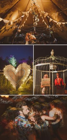 An Epic DIY Bohemian Wedding At Ratfyn Farm With A Jenny Packham Dress And A Humanist Ceremony And A Peach Colour Scheme Photographed By Ed ...