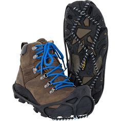 Yaktrax's Walker provides greater stability while walking on snow and ice.  Wore mine to work today!