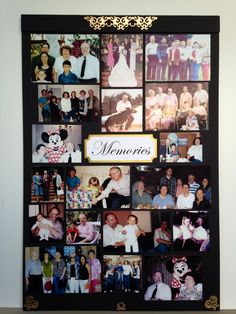memory boards for funerals In Memory Of Dad, In Loving Memory, Funeral Posters, Funeral Reception, Funeral Planning, Funeral Ideas, Picture Boards, Picture Frame, Funeral Memorial