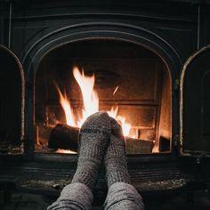 Fireplace | Soho House Christmas