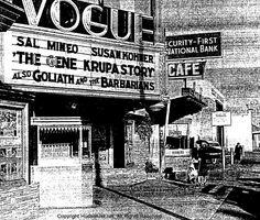 Vogue Theater Montebello Ca