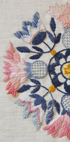 My new obsession – Swedish embroidery. Love the color. Love the flowers. Love the style. What is it? It's rich – full of life and character. It's a feeling. Here are some ex…