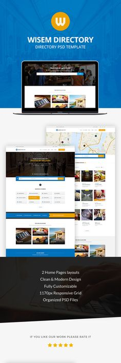 Wisem - Directory PSD (Corporate) Nulled - http://nulledzero.com/wisem-directory-psd-corporate-nulled/ - Wisem – Directory PSD (Corporate) Nulled Free download Final version     Wisem Guide is a modern and clean PSD Template Guide. It is best to create a directory, coupons, promotions or Classified ads portal. This is what fully customizable with 12 PSD files, well-organized and easy to edit....