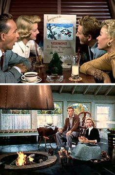 Design Sponge's Living In...White Christmas. Oh yes. I want to go to there. I love every single thing about this movie and would love to have this kind of style!