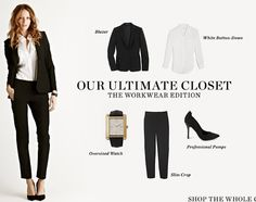 Shopbop: ultimate closet / work outfit
