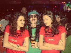 Carnaval Bigode Coral #CervejaCORAL