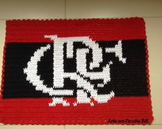 Tapete Croche Futebol Flamengo