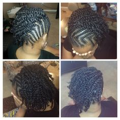 Cornrows and two-strand twists