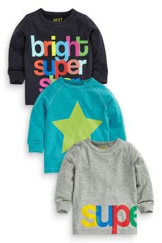 Buy Three Pack Superstar T-Shirts (3mths-6yrs) online today at Next: United States of America $24