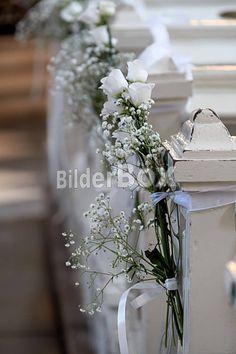 Blumenschmuck Kirche Hochzeit | Blumenschmuck bei einer Hochzeit