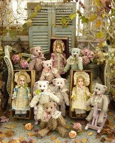 Atelier de Léa (@atelier.miniature) • Photos et vidéos Instagram Creations, Miniatures, Teddy Bear, Toys, Photos, Animals, Instagram, Atelier, Activity Toys