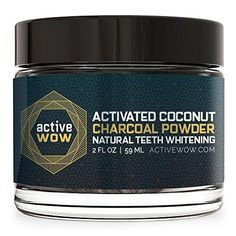 Naturally whiten your teeth - if you're not a fan of dental-grade whitening peroxides, active wow charcoal teeth whitening is a great alternative. WHITEN YOUR TEETH - No sensitivity, premium organic charcoal, excellent for gum health. Teeth Whitening Remedies, Natural Teeth Whitening, Whitening Kit, Smile Whitening, Acne Remedies, Young Living, Popsugar, Activated Charcoal Teeth Whitening, Charcoal Toothpaste