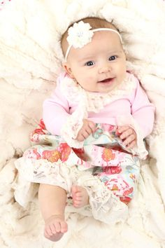 This layette is so adorable as a going home outfit and makes for super quick diaper changes!