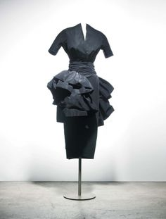 """Petit Dîner"" by Dior, fall/winter 1948-49From the Musée..."