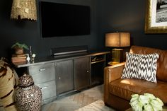 AphroChic Exclusive: Genevieve Gorder's Home For The Holidays Moody, masculine and elegant