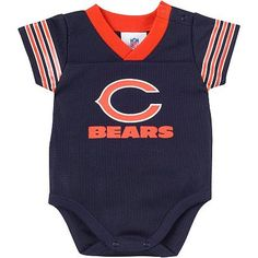 Chicago Bears Dazzle Mesh Bodysuit