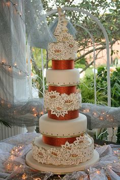 Matrimonio de Encajes by CAKES Variedades Dalila, via Flickr