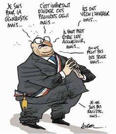 """Maire pseudo """"Républicain - LR"""" qui pense (en soi, c'est un scoop !)"""