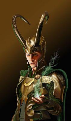 Loki by Kulibrnda Fan Art Asgard Marvel, Loki Marvel, Loki Thor, Tom Hiddleston Loki, Loki Art, Avengers Art, Loki And Sigyn, Loki Laufeyson, Loki Wallpaper