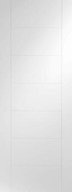 Palermo White Internal Door